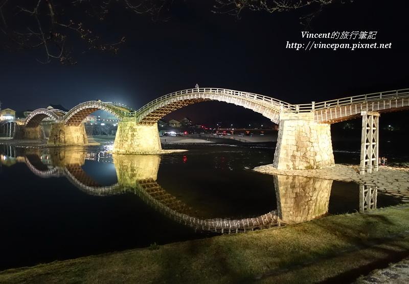 錦帶橋 夜景2