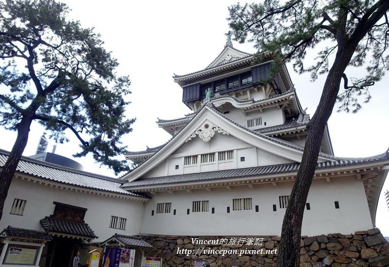 小倉城重建的天守