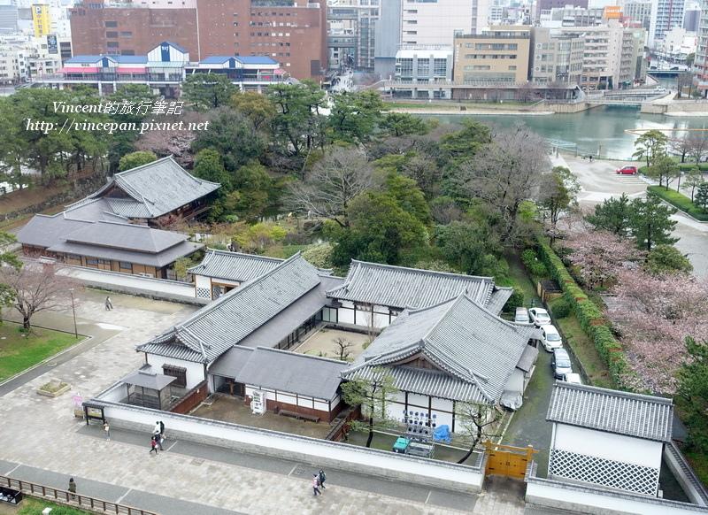 小倉城庭園和紫川