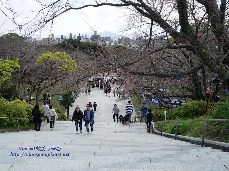 西公園階梯
