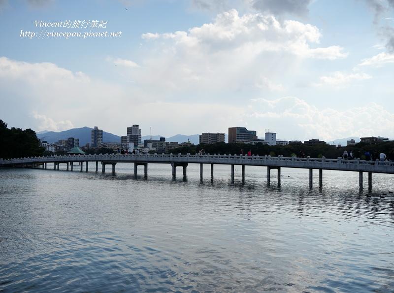 大濠公園 觀月橋
