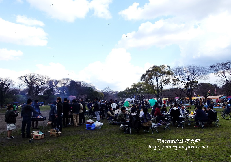 舞鶴公園野餐