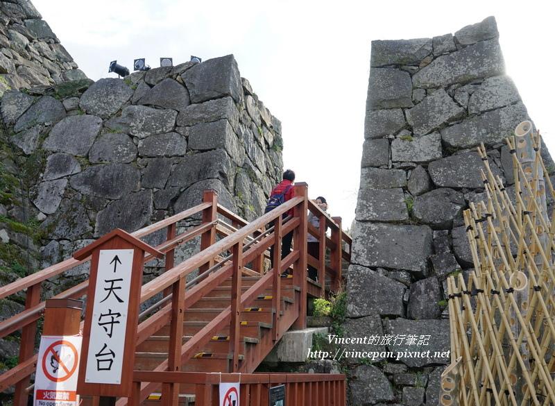福岡城 天守台