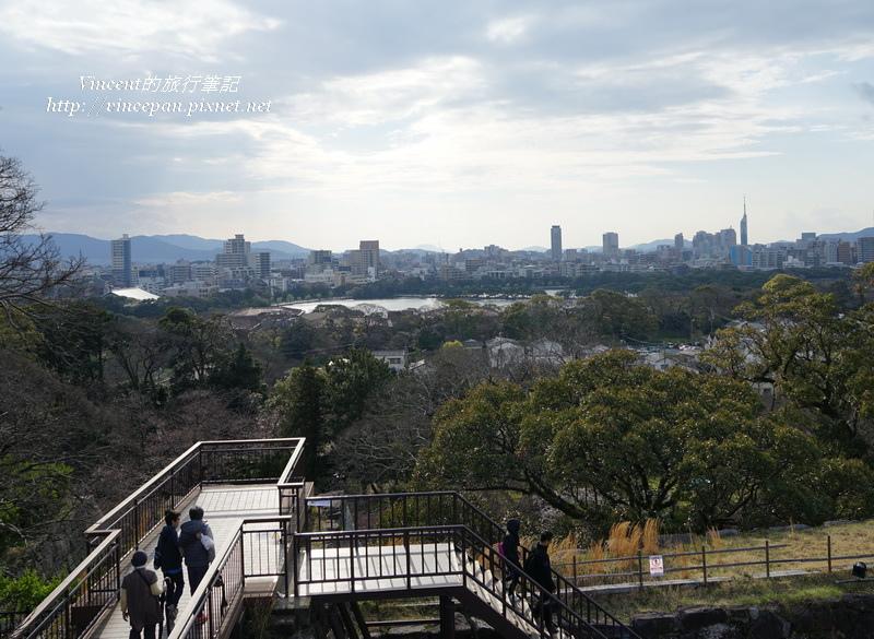 眺望福岡市