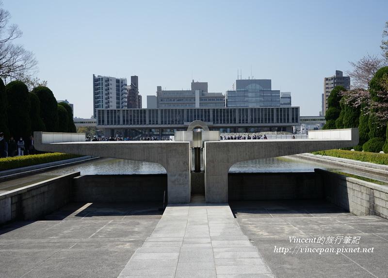 平和之燈 和平之池