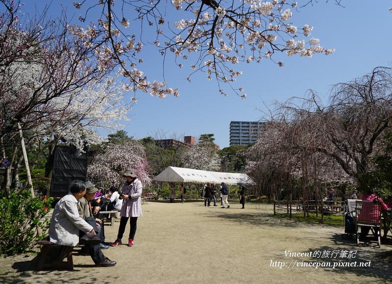 縮景園 廣場