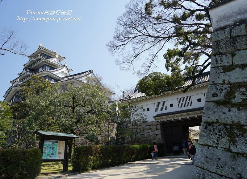 岡山城入口 廊下門