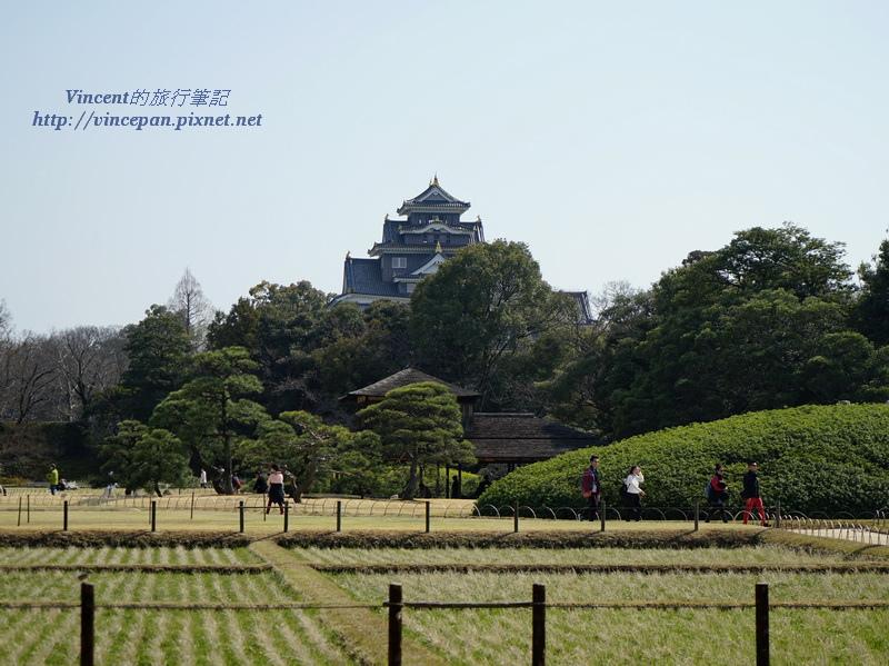 井田 岡山城