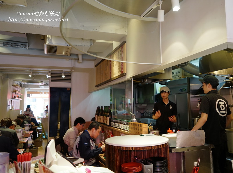 小豆島拉麵店內