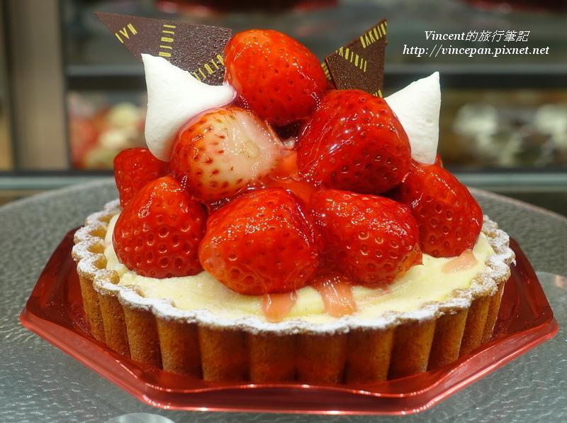HAKUJUJI草莓塔