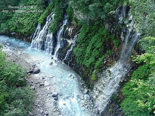 美瑛川和白鬚瀑布