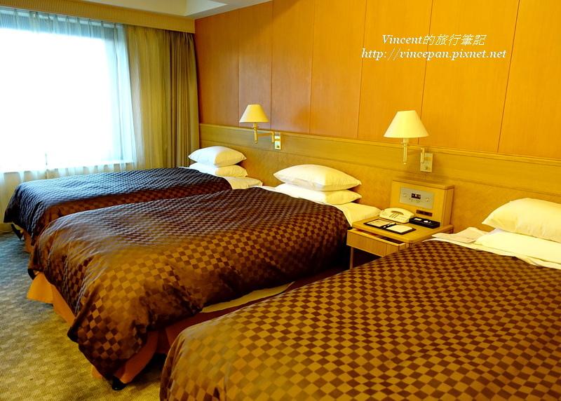 Hotel Nikko Northland三人房