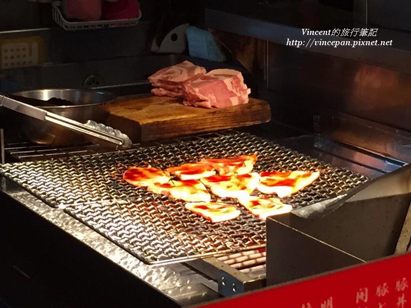 豚丼のぶたはげ 烤肉