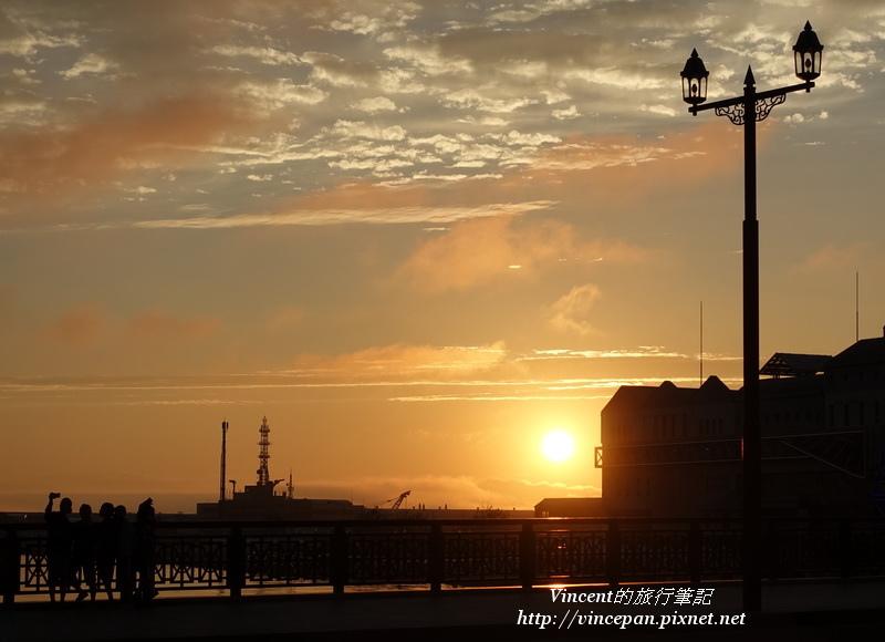 釧路夕陽 幣舞橋