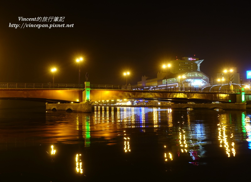 幣舞橋 夜景1