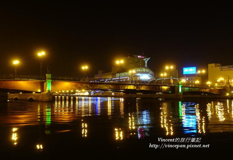 幣舞橋 夜景2