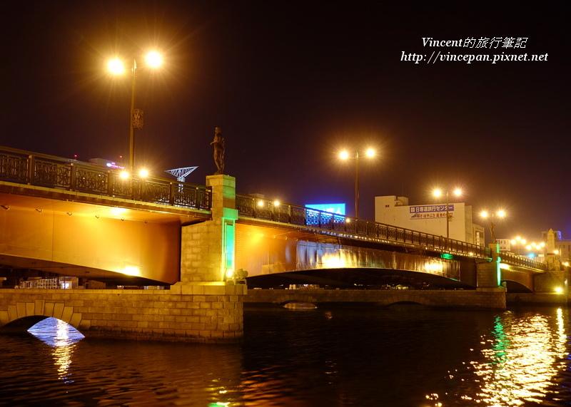 幣舞橋 夜景3