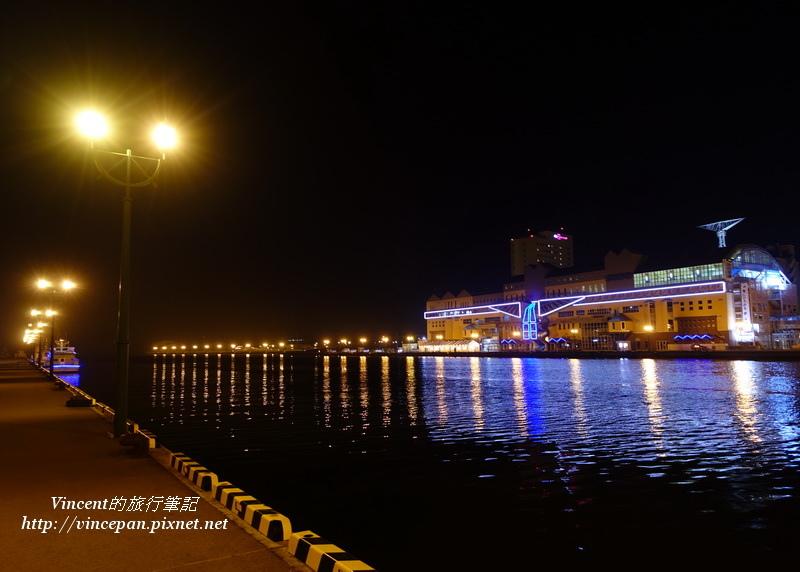 釧路港 夜景