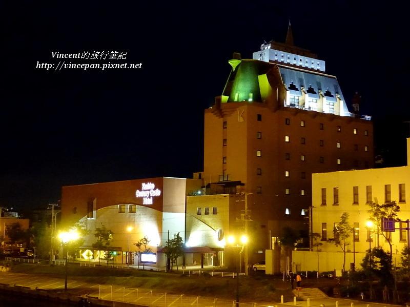 Kushiro Century Castle Hotel 夜