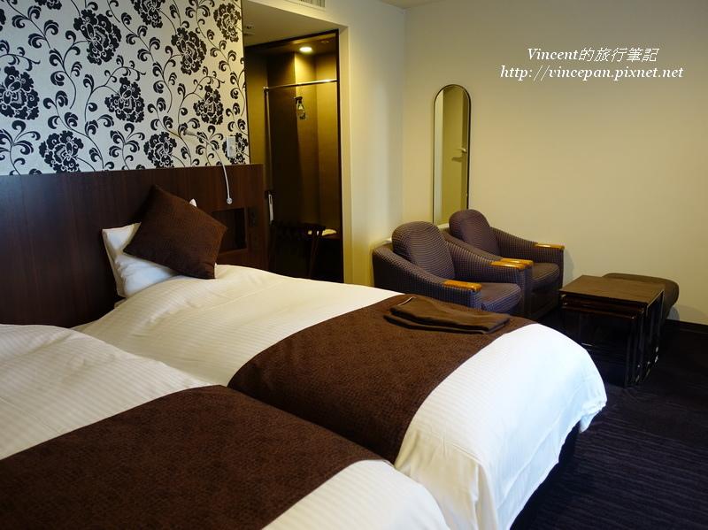 Twin雙床房