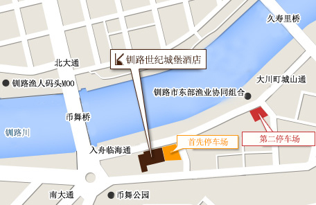 Century Castle Hotel parking_map