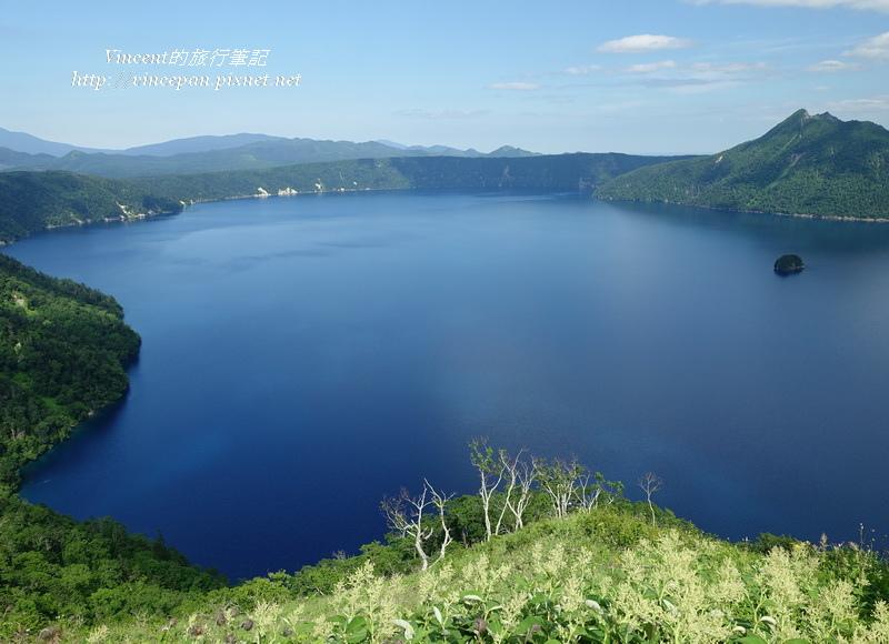 摩周湖 清澈湖面