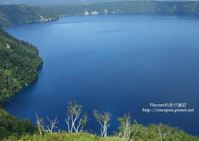 摩周湖 湖面