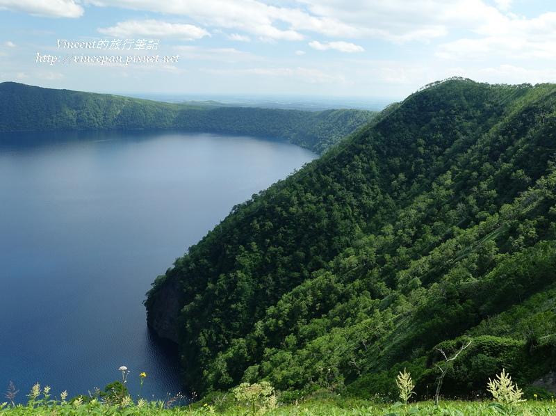 摩周湖 山坡1