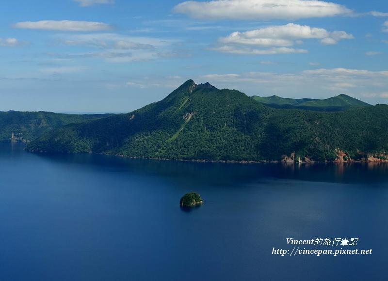 卡姆依修島和摩周岳