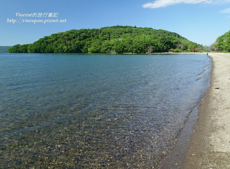 屈斜路湖水清澈