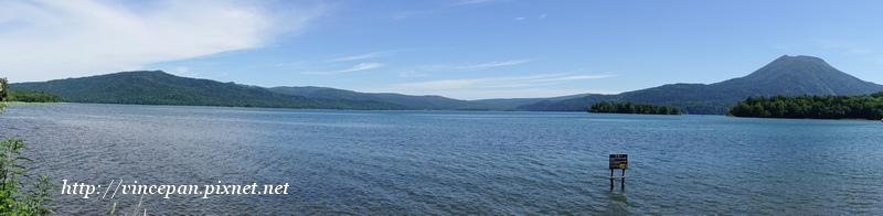 阿寒湖 全景
