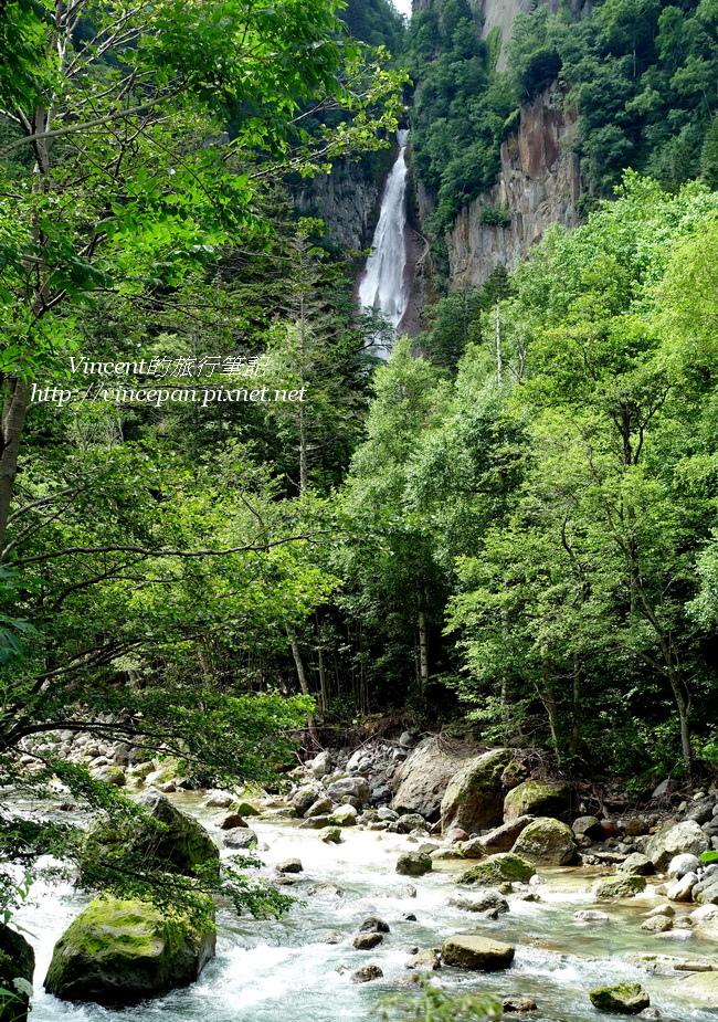 流星瀑布 溪谷
