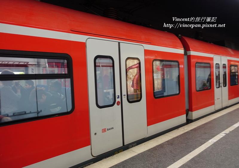 S-Bahn S8路線