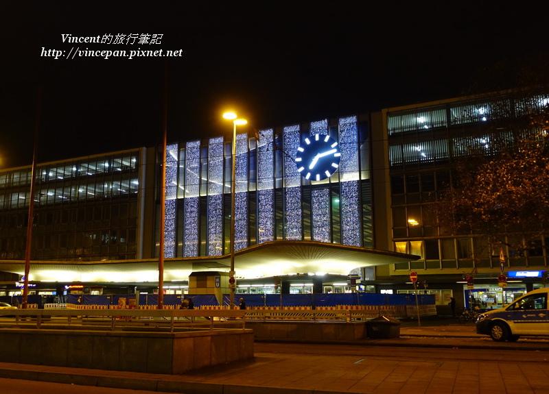 慕尼黑中央車站 夜晚