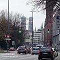 慕尼黑車站 看主座教堂