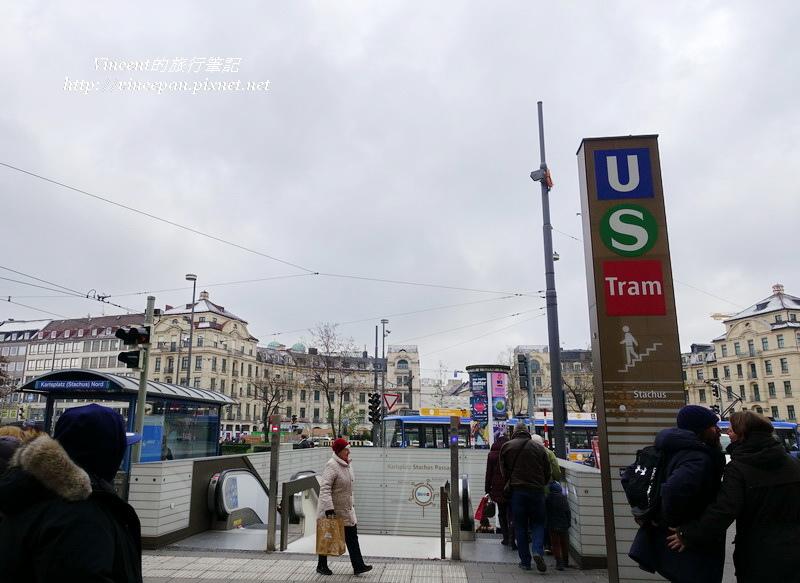 Karlsplatz地下道
