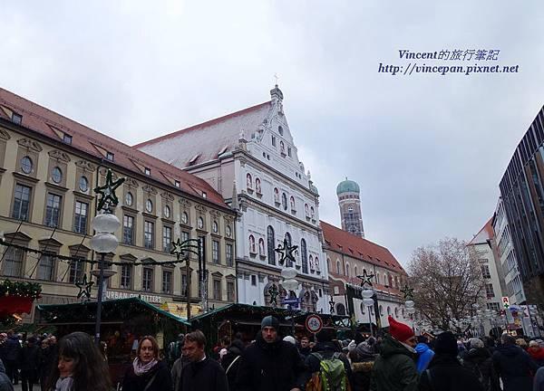 Michaelskirche 耶誕市集