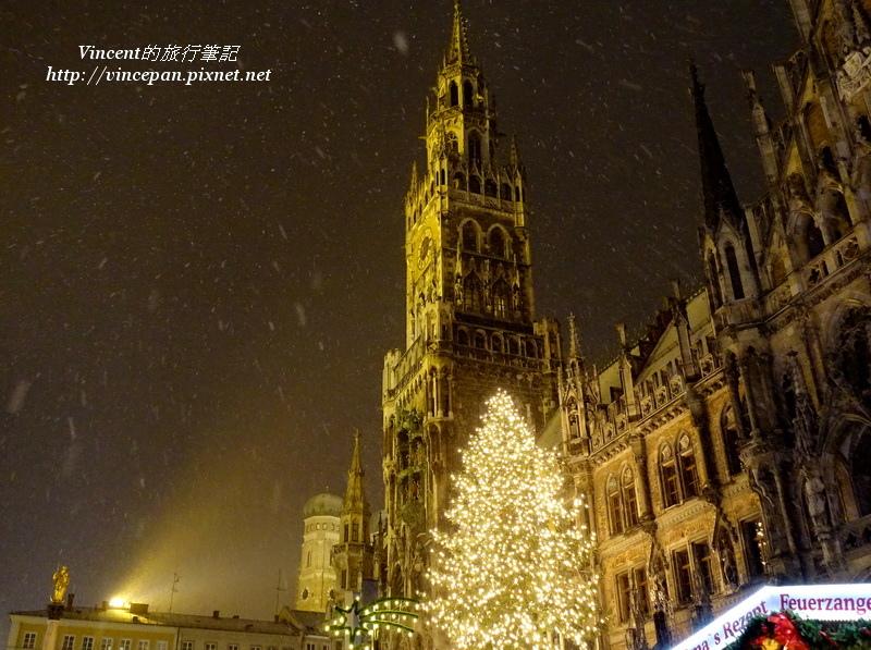 下雪的瑪利亞廣場