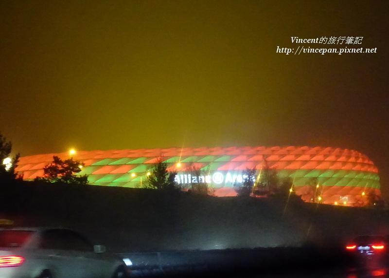 Allianz Arena light