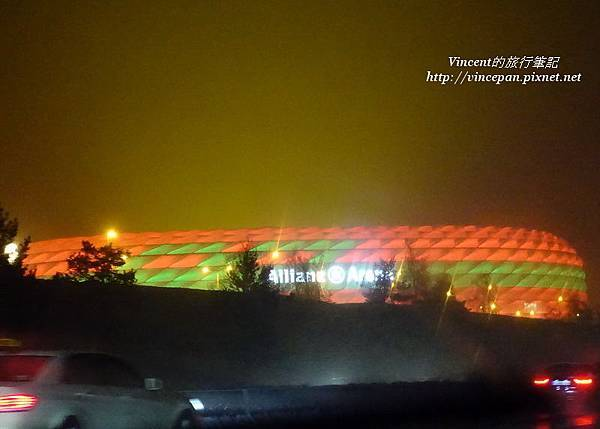 Allianz Arena light