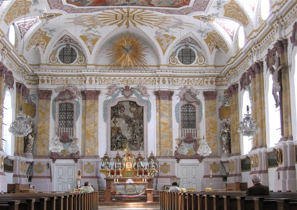 伯格塞爾教堂 上教堂 Wiki