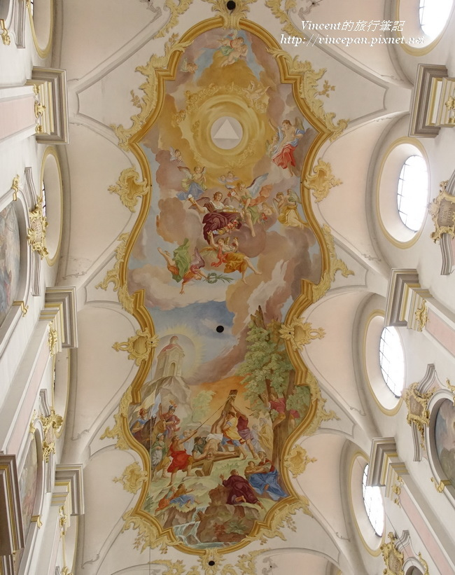 聖彼得教堂拱頂壁畫