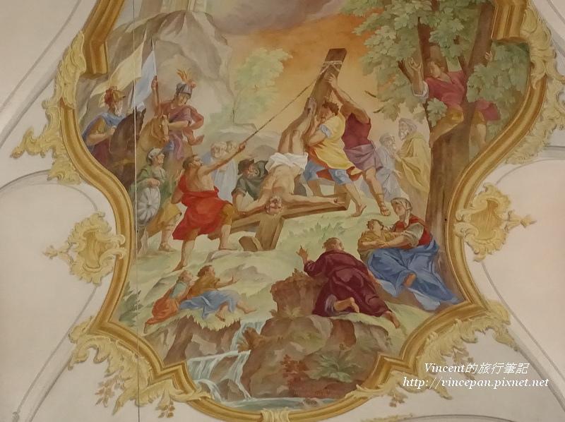 聖彼得教堂壁畫2