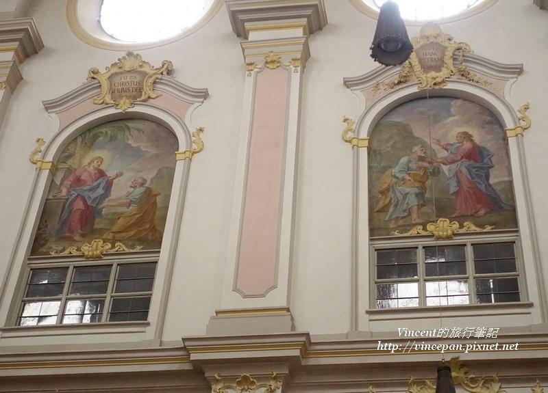 聖彼得教堂 窗的畫