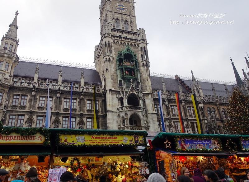 慕尼黑聖誕市集 市政廳