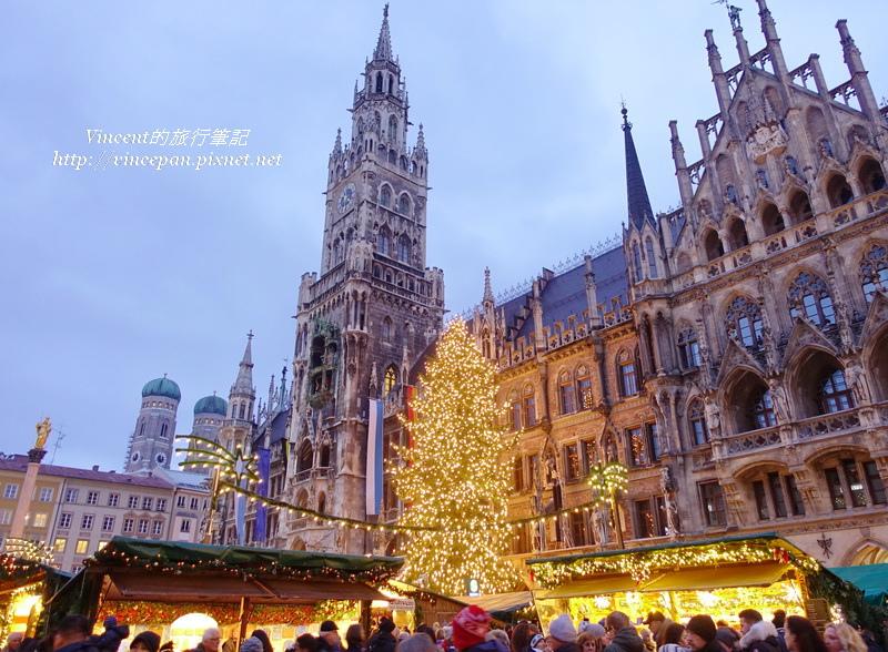 慕尼黑聖誕市集 聖誕樹