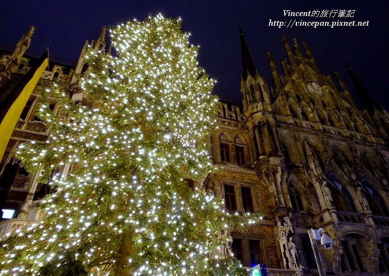 慕尼黑聖誕樹