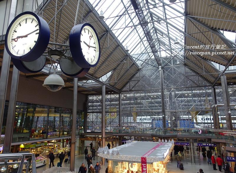 慕尼黑車站大廳 鐘