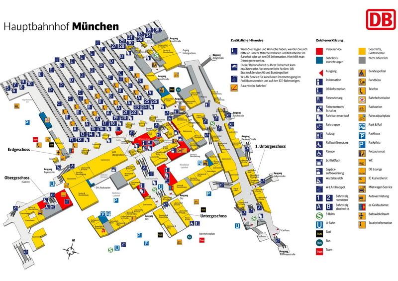 Munchen Hbf_location Bild