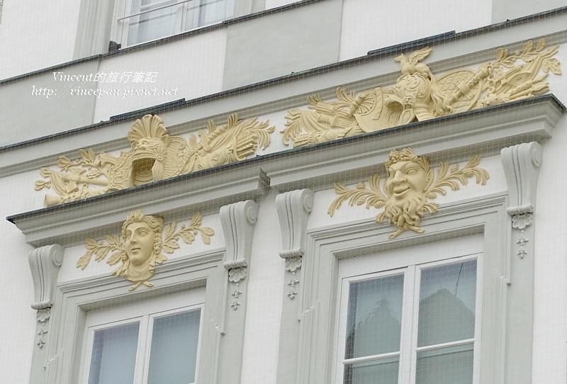 寧芬堡宮 窗戶雕像